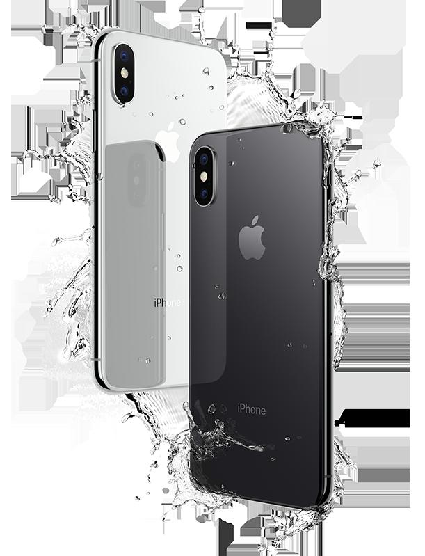 iPhoneX-water