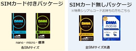 SIMパッケージ